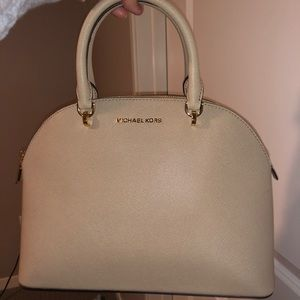 Michael Kors handbag, DOME SATCHEL LEATHER